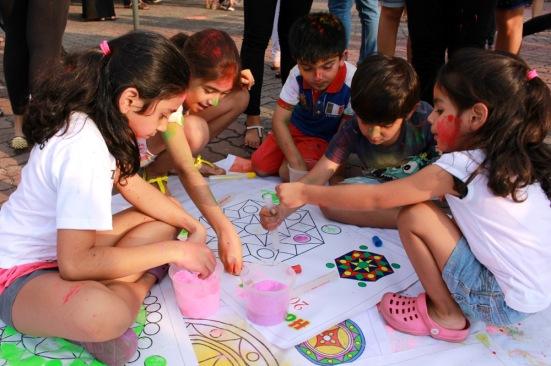 Holi Festival 2015_Rangoli (Andressa Flores)